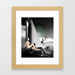 Cold Blooded Framed Art Print