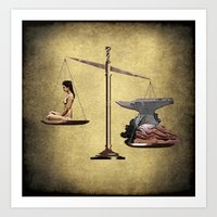 health Art Prints featuring Health by angeappleseed