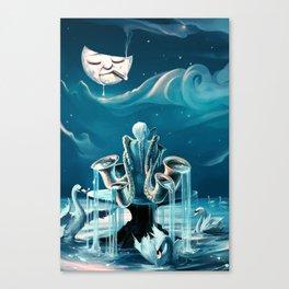 Everlasting Blues Canvas Print