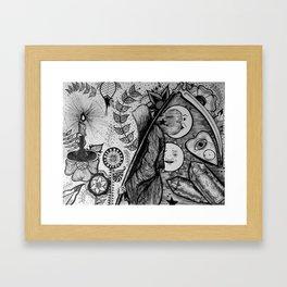 An Inevitable Division Framed Art Print
