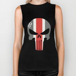 Buckeye Skull Biker Tank