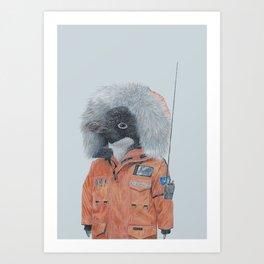 Antarctic Penguin Kunstdrucke