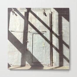 Shade Lines Metal Print