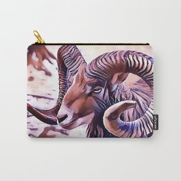 The Bighorn sheep Carry-All Pouch