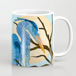 Egret Sun Coffee Mug