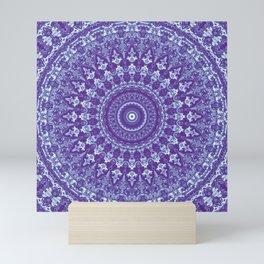 Ornate mandala Mini Art Print