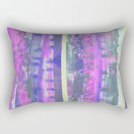 Faded Layers Rectangular Pillow