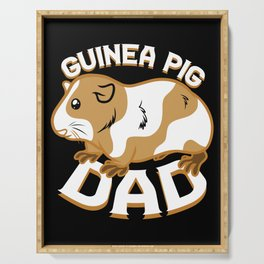 Guinea Pig Dad Serving Tray