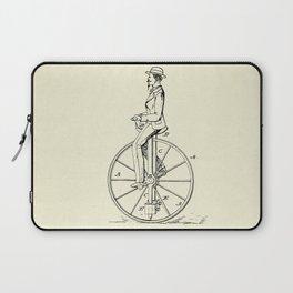 Velocipede-1869 Laptop Sleeve