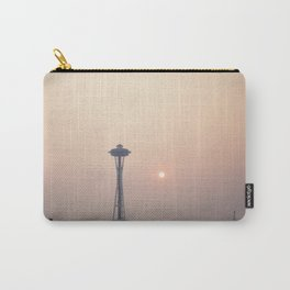 Smoky Sunset in Seattle Carry-All Pouch