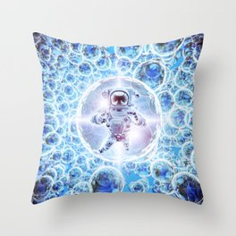 Infinite Galaxy Throw Pillow