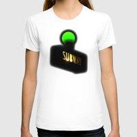 subway T-shirts featuring Subway by Jack O'Dowd
