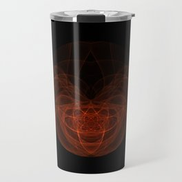 Orange Orb Travel Mug