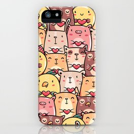 Sweet Pets iPhone Case