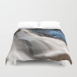 Blackwater Falls - Winter Sphinx Duvet Cover