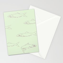 Anchovies Stationery Cards