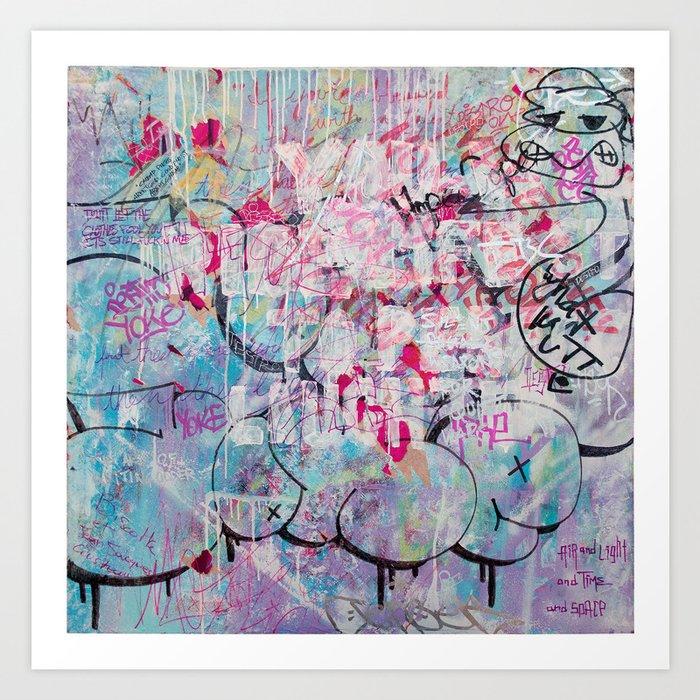 Homies Tags & Throws Art Print