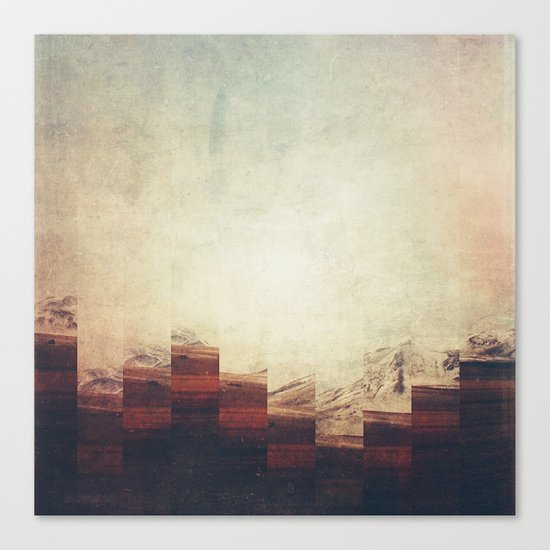 Fractions A90 Canvas Print