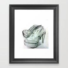 Shoe Fashion Framed Art Print