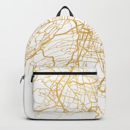 MEXICO CITY MEXICO CITY STREET MAP ART Backpack