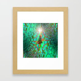 Christmas in Outer Space... Framed Art Print