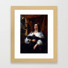 Jacob Jordaens Portrait of a Lady Framed Art Print