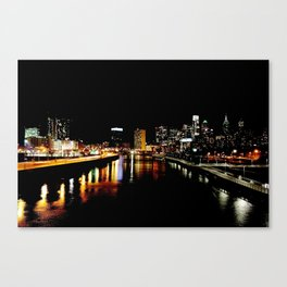 Philly St. Paddy's Day View Canvas Print
