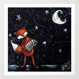 Moon Songs Art Print
