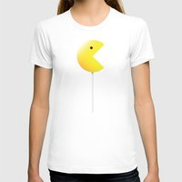 pac man T-shirts featuring Pac-Man by Tony Vazquez