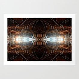 Quad Tracks #2 Art Print