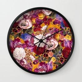 EXOTIC GARDEN XIII Wall Clock
