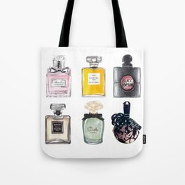 Perfume Collection Tote Bag