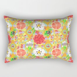 4160 Tuesdays Rainbow Botanicals Rectangular Pillow