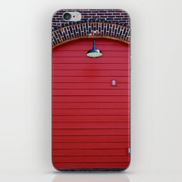 Red Freight Door iPhone Skin