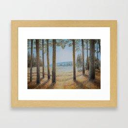 lush umber Framed Art Print