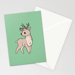 Cute Deer cartoon Stationery Cards
