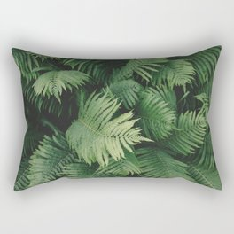 Reaching Ferns Rectangular Pillow