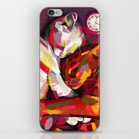 cuddle iPhone & iPod Skins featuring Cuddle Time by Travis Clarke