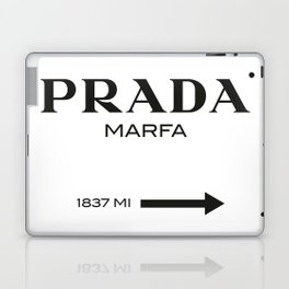 PradaMarfa sign Laptop & iPad Skin