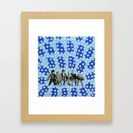 Kids With Guns Framed Art Print
