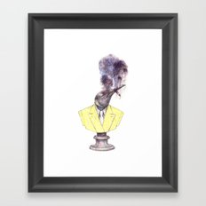 smokin' Framed Art Print