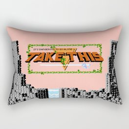 Legend of Zelda - It's Dangerous to Go Alone, Take This Rectangular Pillow