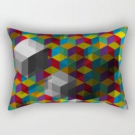 Isometric Colour Rectangular Pillow