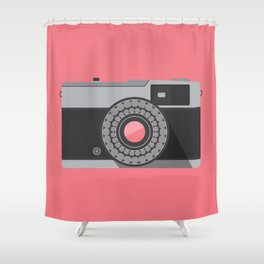 Camera Series: Olympus Trip 35 Shower Curtain