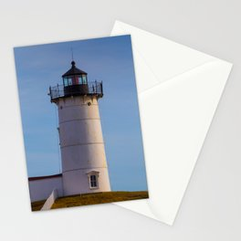 Cape Neddick Nubble Lighthouse York Maine Stationery Cards