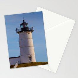 Cape Neddick Nubble Lighthouse York Maine Stationery Cards