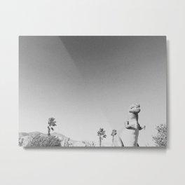 RAWR / Cabazon Dinosaurs, CA Metal Print