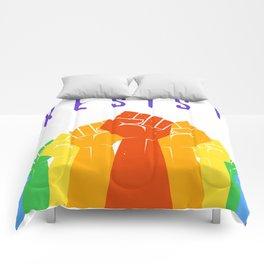 Resist (Pride) Comforters