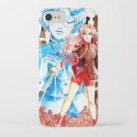 utena iPhone & iPod Cases featuring Utena by Pia PB