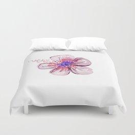 Little Lilac Flower Duvet Cover